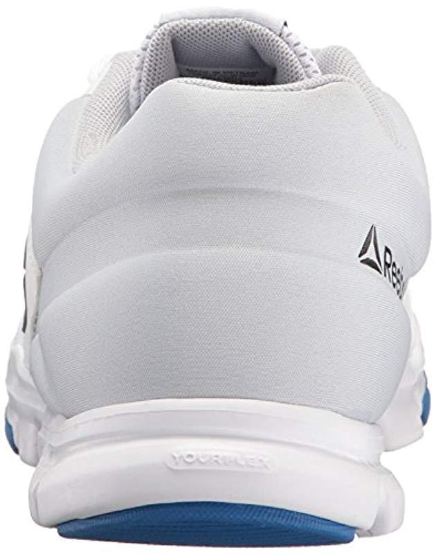 0393aa5f0a6 Lyst - Reebok Yourflex Train 9.0 Mt Running Shoe in White for Men - Save  7.692307692307693%