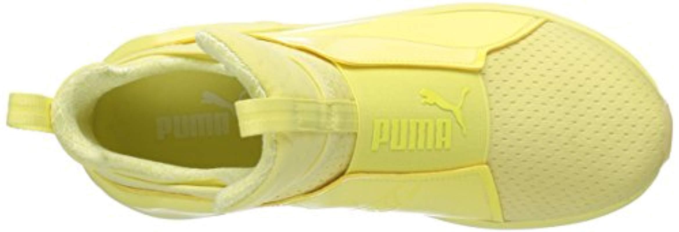 brand new 8b06b b5b87 PUMA Fierce Bright Mesh Cross-trainer Shoe in Yellow - Lyst