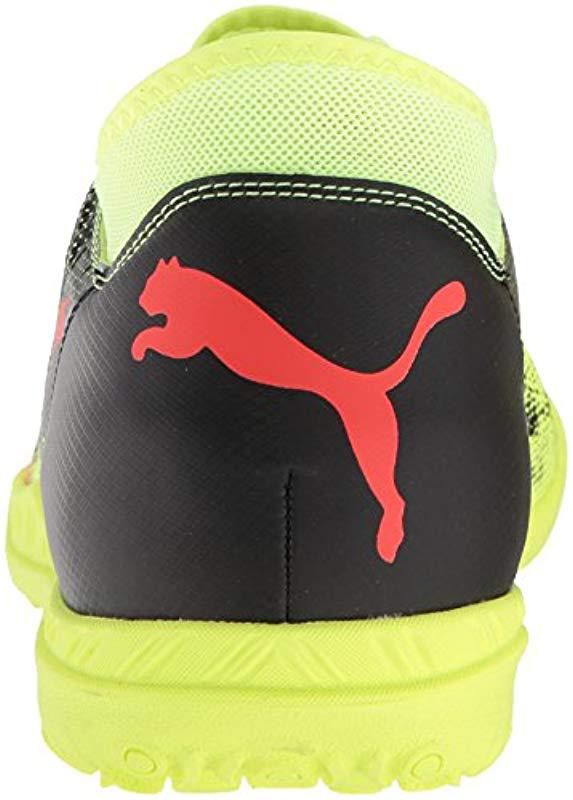3aeb53d473b Lyst - PUMA Future 18.4 Tt Soccer Shoe in Yellow for Men - Save 35%