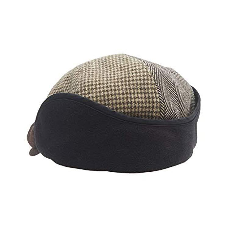 d6269685074 Dockers - Brown Ivy Newsboy Hat With Earflaps for Men - Lyst. View  fullscreen