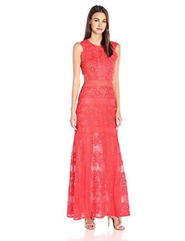 Lyst - Bcbgmaxazria Bcbgmax Azria Merida Knit Evening Dress