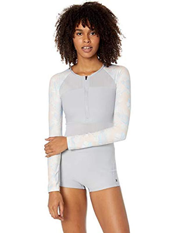fdf67b57f8 Hurley. Women s Quick Dry One Piece Bathing Suit Wetsuit Swimsuit