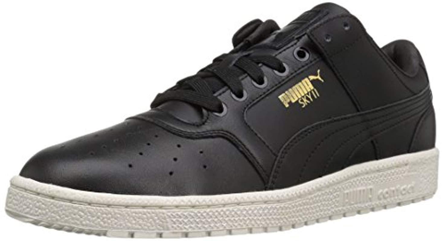 fc0a78324c70cb Lyst - PUMA Sky Ii Lo Natural Basketball Shoe in Black for Men - Save 1%