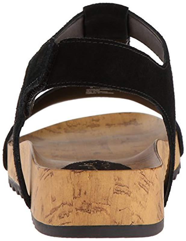 94d4c4968898 Lyst - Clarks Zelby Zena Platform Sandal in Black