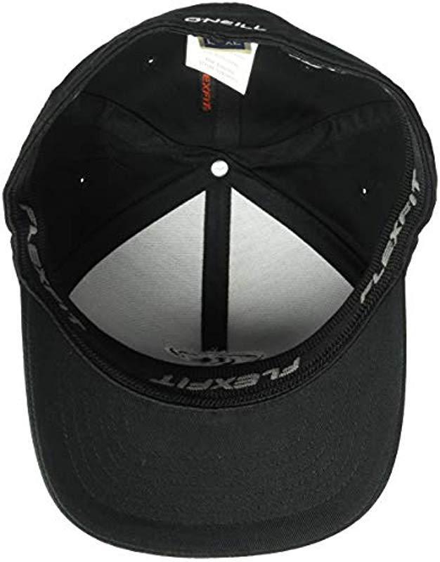 ace6cee2845 Lyst - O neill Sportswear Staple Stretch Fit Hat in Black for Men ...