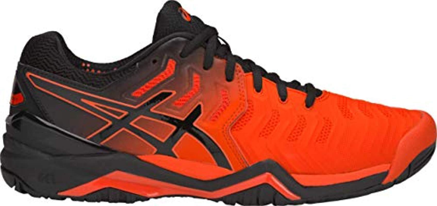 38445a3af90 Lyst - Asics S Gel-resolution 7 Tennis Shoe in Orange for Men