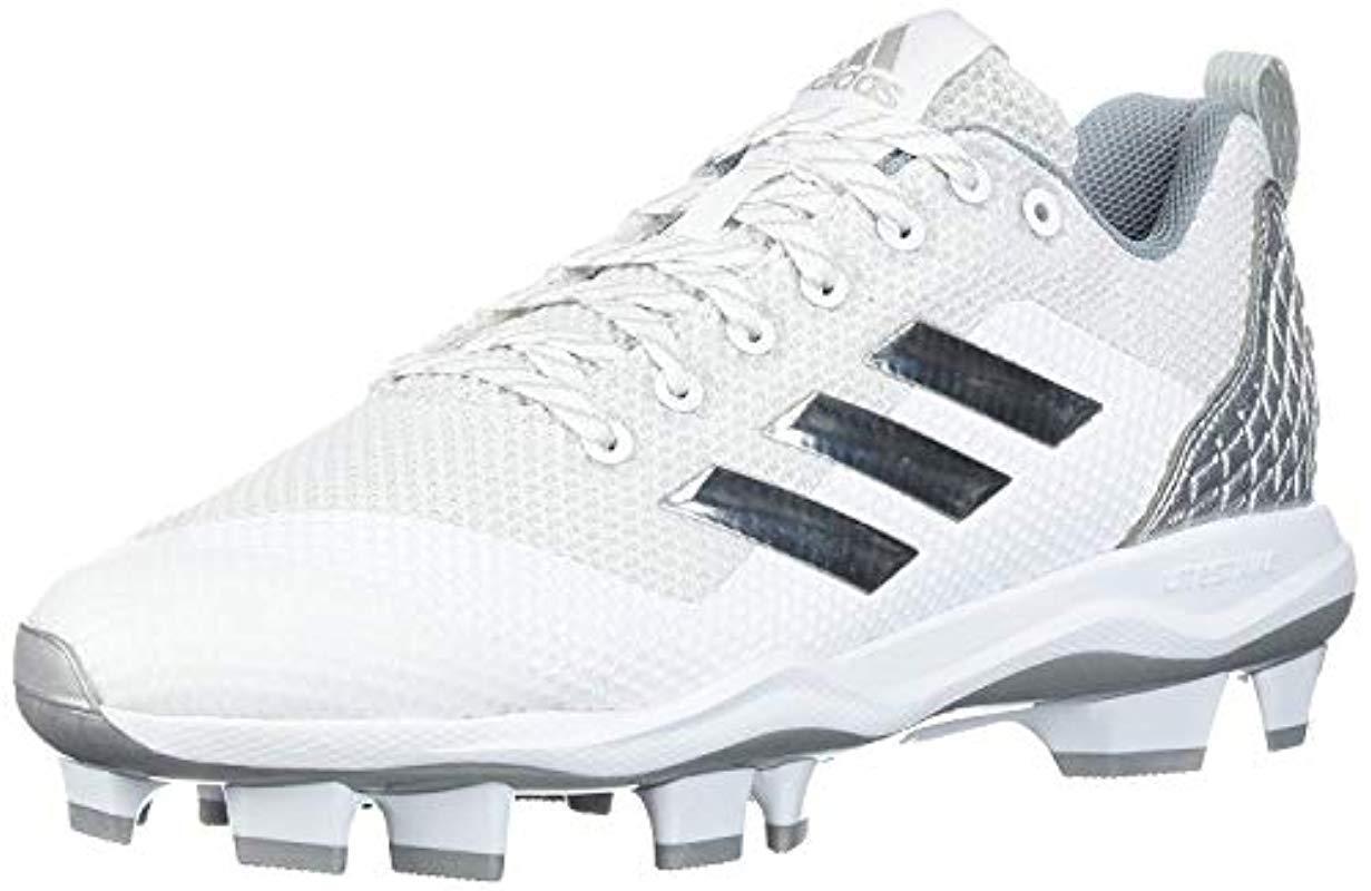 bdcc5b7cf1fa Lyst - adidas Freak X Carbon Mid Baseball Shoe, Ftwr White, Silver ...