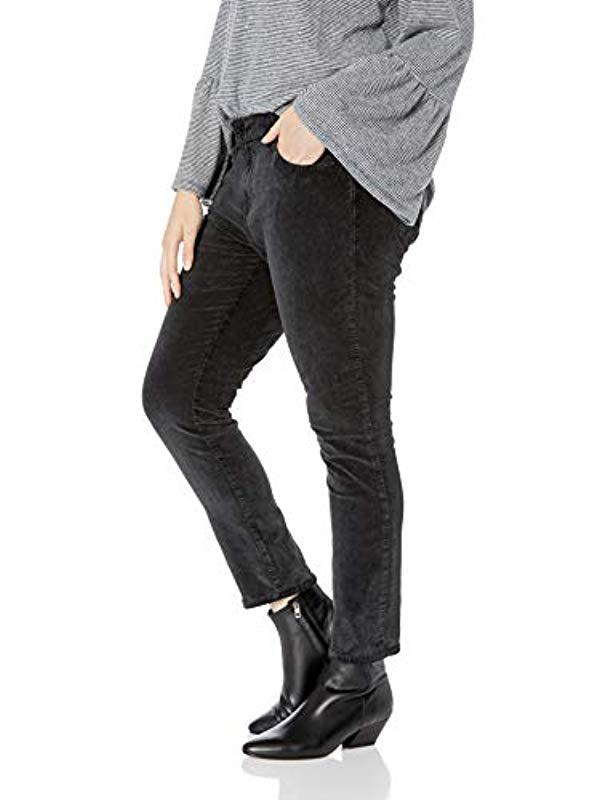 bb30f59b1a2bf Lyst - Lucky Brand Plus Size Mid Rise Ginger Skinny Jean In Parkman in Black