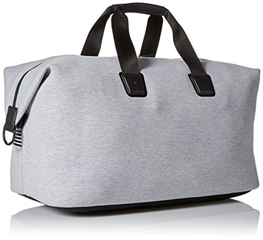 da73e825ed7 BOSS - Gray Boss Green Pixel Jersey Holdall Weekender Bag for Men - Lyst.  View fullscreen