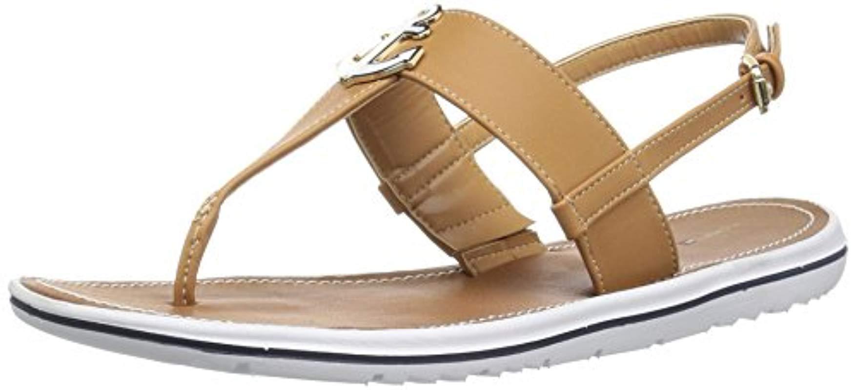 e83548fa3 Lyst - Tommy Hilfiger Galiant Flat Sandal - Save 22%