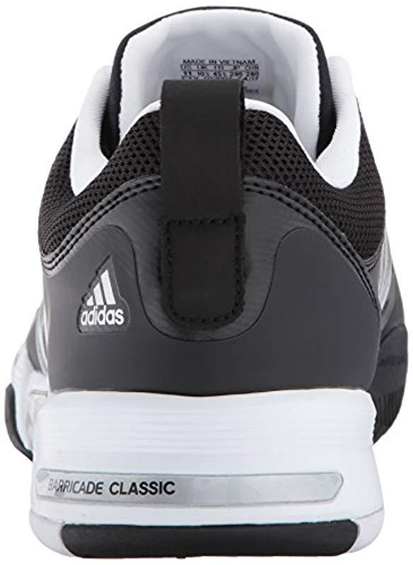 pretty nice e6feb 5c26a Adidas - Metallic Barricade Classic Wide 4e Tennis Shoe for Men - Lyst.  View fullscreen