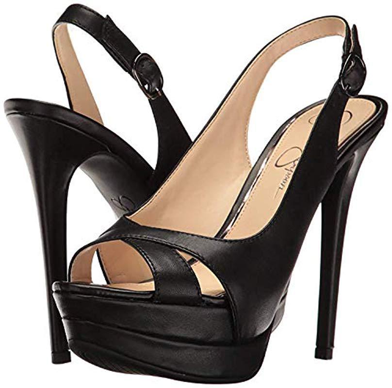 7cb8d64cbd3 Lyst - Jessica Simpson Willey in Black - Save 57.27272727272727%