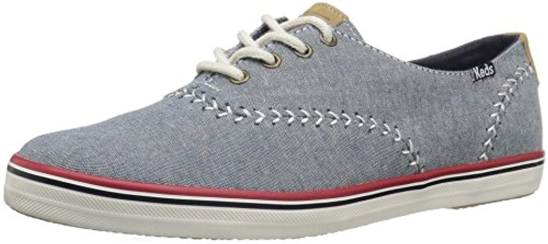 8c5d7617e59cb Lyst - Keds Champion Pennant Fashion Sneaker in Blue
