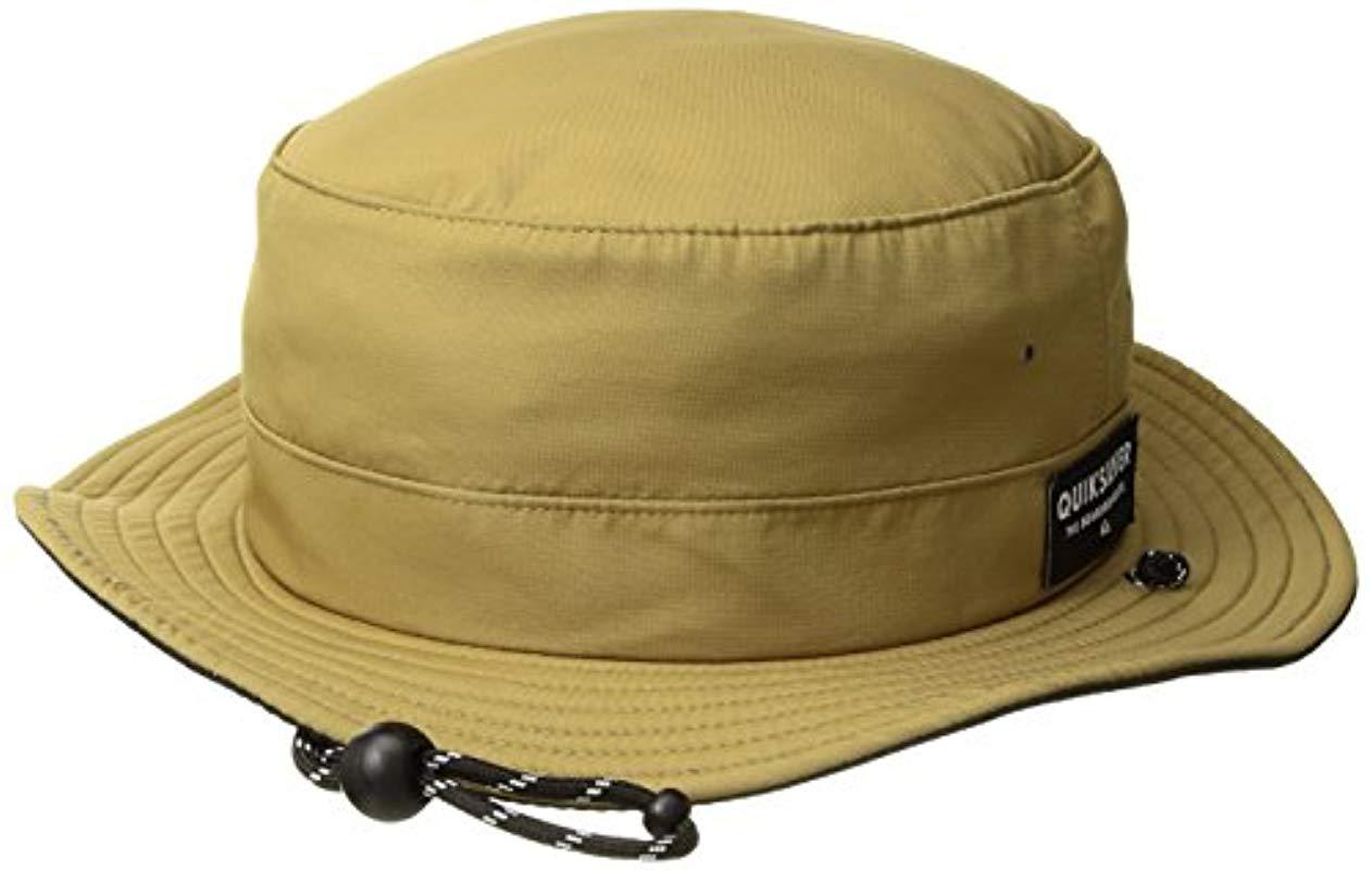 8a1e7ba3d4b1b ... italy lyst quiksilver jetty free hat in natural for men save 24355 c8a74