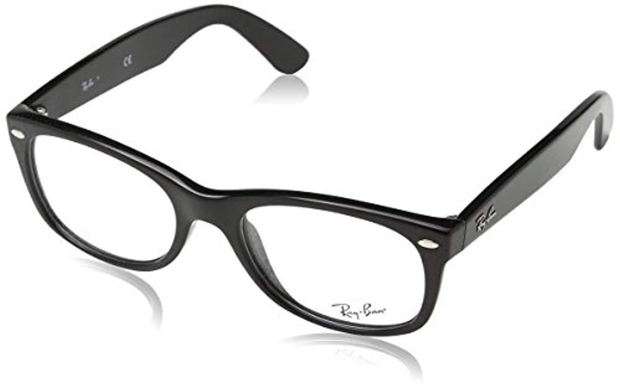 5718176d46 Ray-Ban - Black Unisex Rx5184 New Wayfarer Eyeglasses for Men - Lyst. View  fullscreen