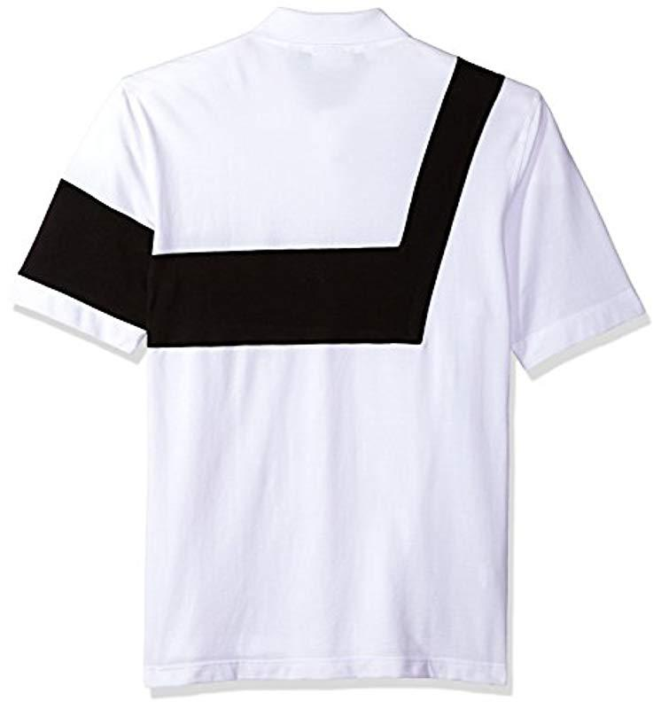 0cd55810 Lacoste - Multicolor Short Sleeve '85th Anni' 00's Striped Polo, Ph7326 for  Men. View fullscreen