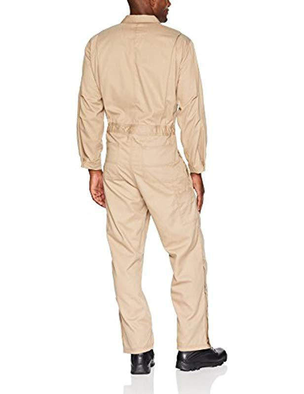 51e9becb3878 Lyst - Carhartt Flame Resistant Deluxe Coverall in Natural for Men - Save 3%