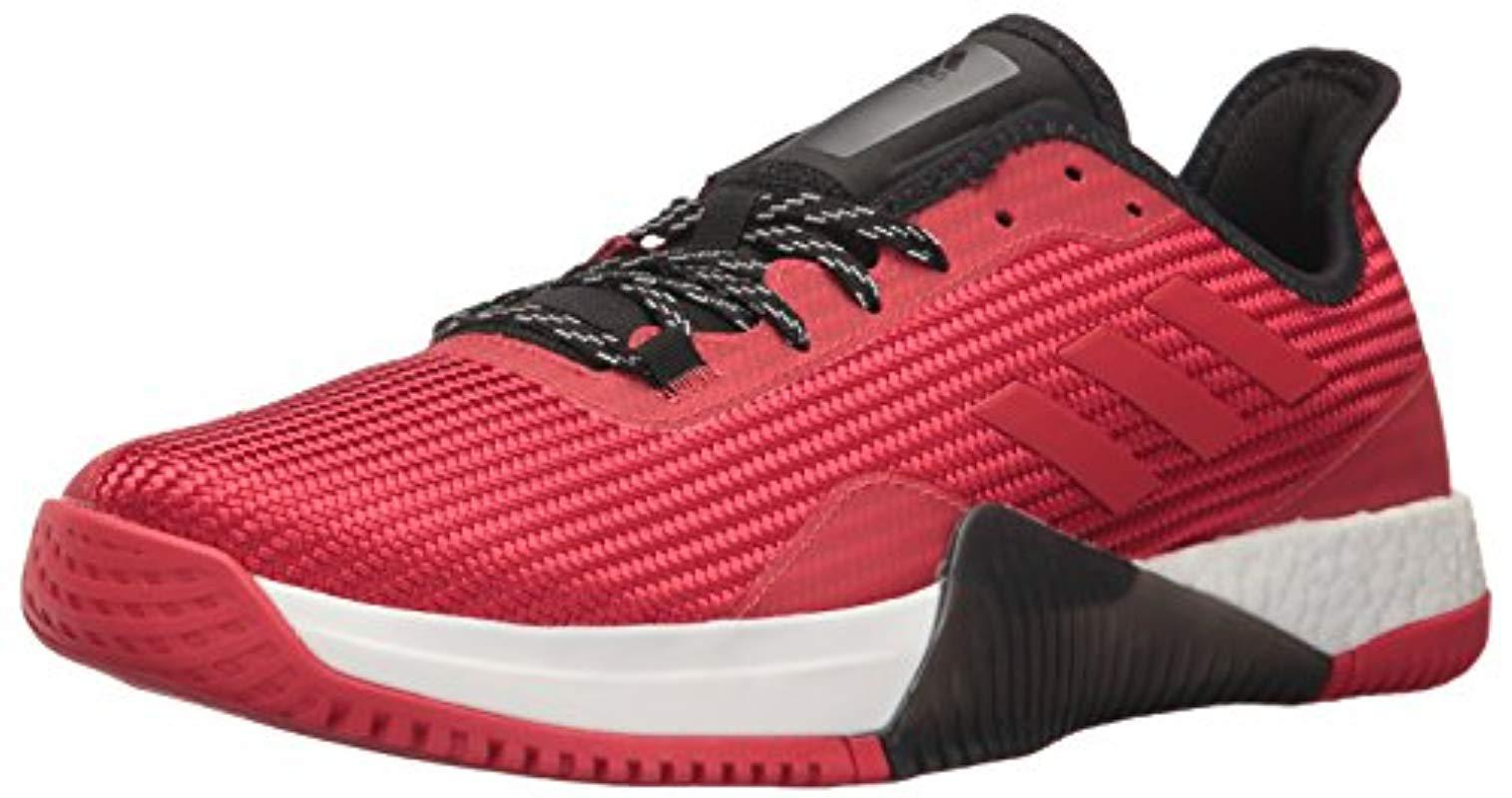 hot sale online 29a27 9ca96 Lyst - adidas Crazytrain Elite M Cross Trainer in Red for Me