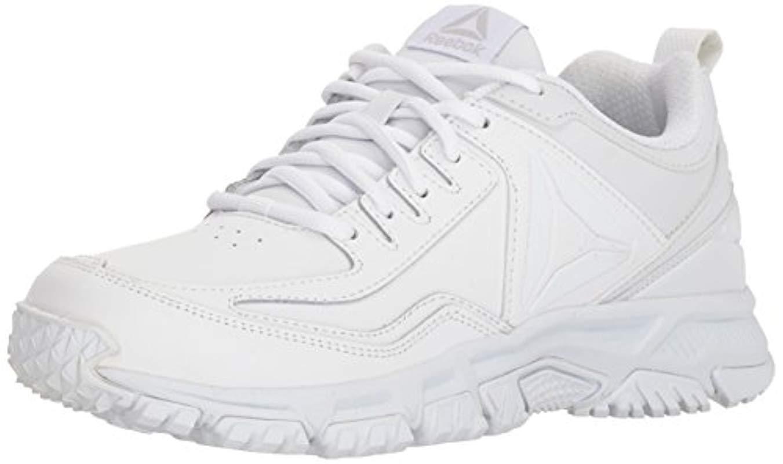 Lyst - Reebok Ridgerider Leather Sneaker in White for Men - Save 32% e54050d5a