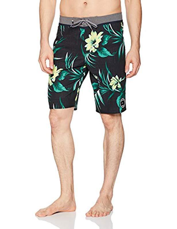 70454baa9f Lyst - Quiksilver Everyday Hawaii Vee 21 Boardshort Swim Trunk in ...