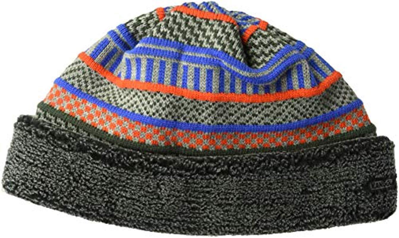 7112c0d1afb Kangol. Men s Blue Fair Isle Beanie Pull On Hat ...