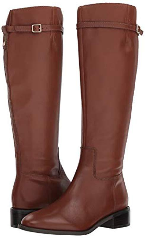 c893522db Franco Sarto Belaire Equestrian Boot in Brown - Save 60% - Lyst