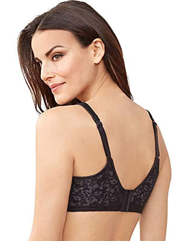 392d41d60a Lyst - Bali Passion For Comfort Back Smoothing Underwire Bra