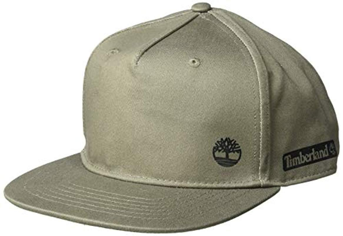 b8f75a1d58c Timberland - Green Cotton Twill Baseball Cap