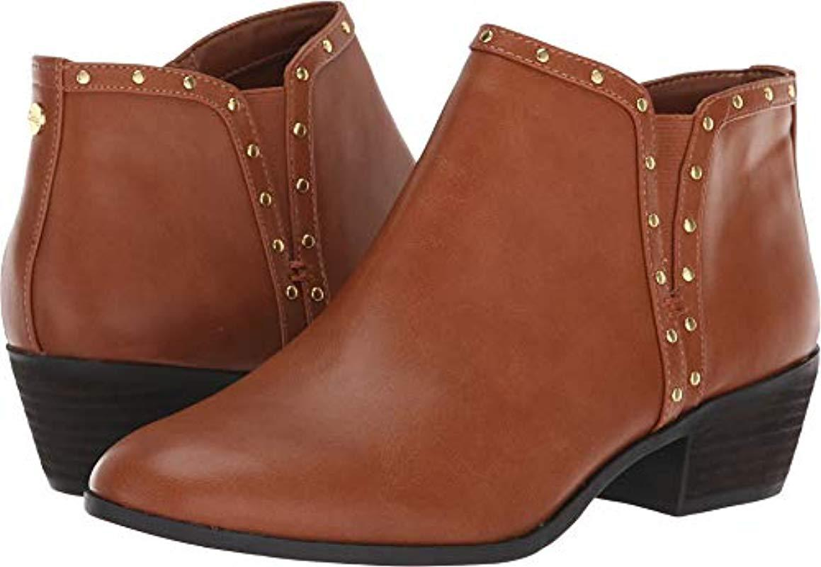 c5dab51e8c8a Lyst - Circus by Sam Edelman Phyllis Ankle Boot in Brown - Save 49%