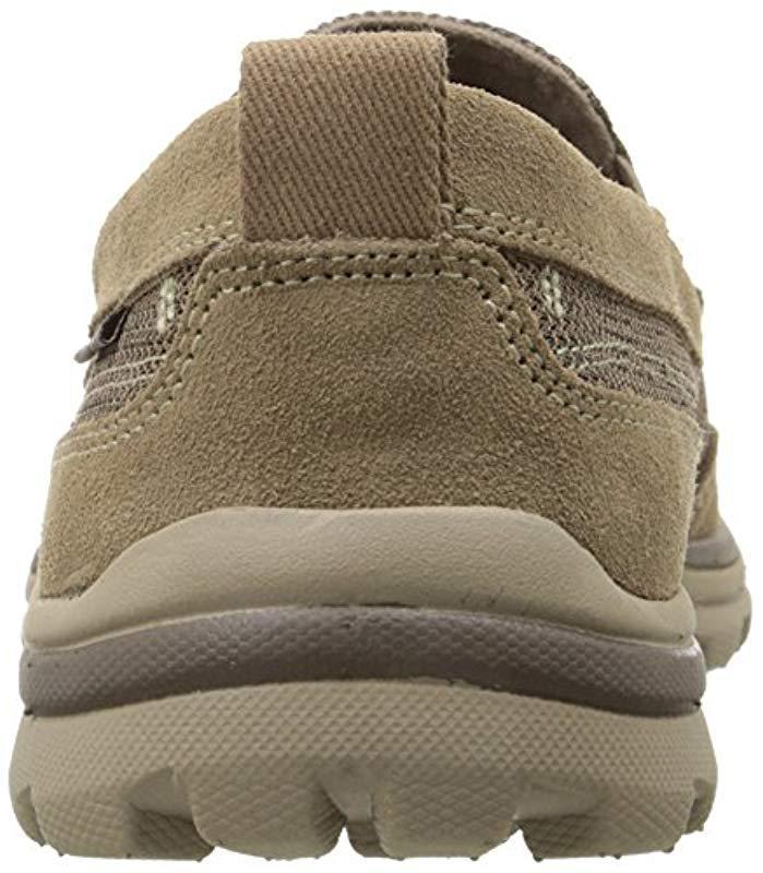 e8c6b2dff9a4 Skechers - Brown Superior Milford Slip-on Loafer for Men - Lyst. View  fullscreen