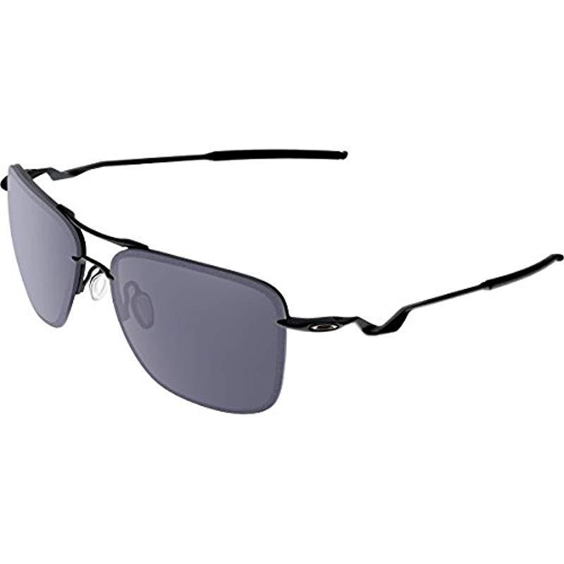 29300169452 Lyst - Oakley Tailhook Oo4087-01 Rectangular Sunglasses in Black for ...