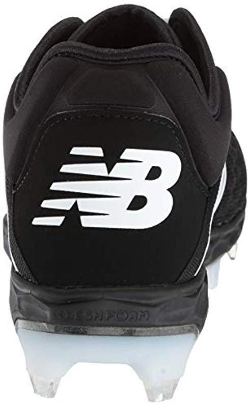 size 40 27e13 81a57 Lyst - New Balance 3000v4 Baseball Shoe Black white 1.5 D Us in ...