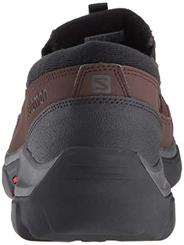 Men For Lyst Snow Brown Snowclog Yves Boot Salomon In 7Ygbf6y