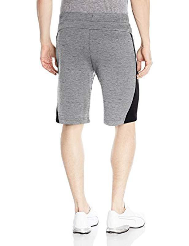 d4c41a5e0920 Lyst - PUMA Evostripe Spaceknit Shorts in Gray for Men - Save 31%
