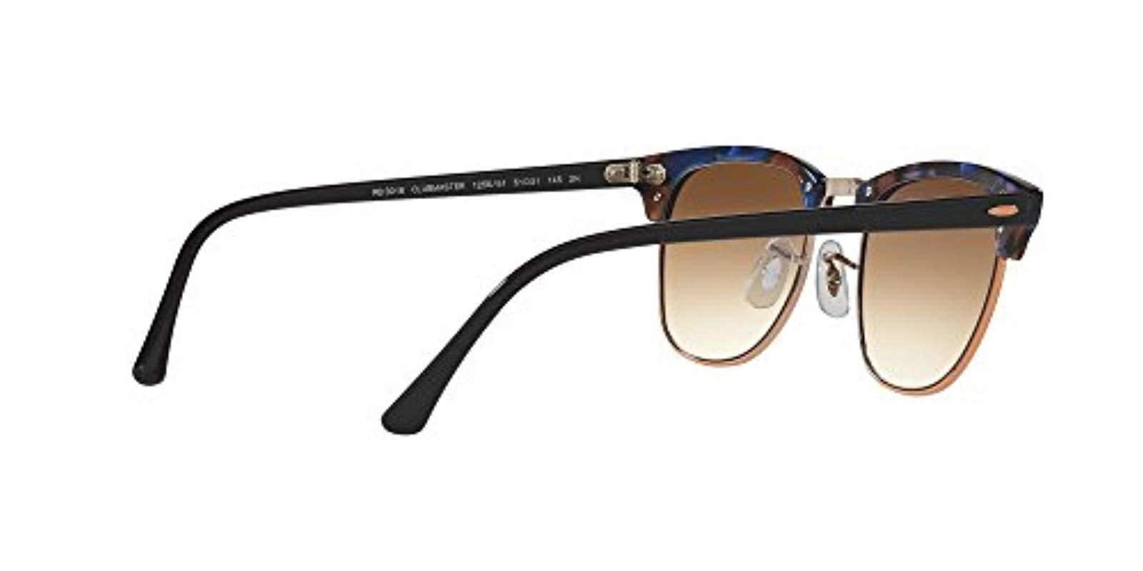 b6ed7c5710 Ray-Ban - Brown Classic Clubmaster for Men - Lyst. View fullscreen