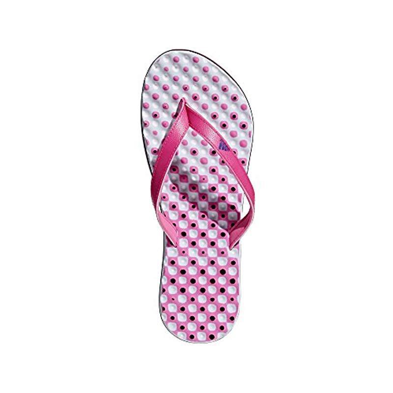 14bf8673a1cfdc Adidas - Pink Eezay Flip Flop - Lyst. View fullscreen