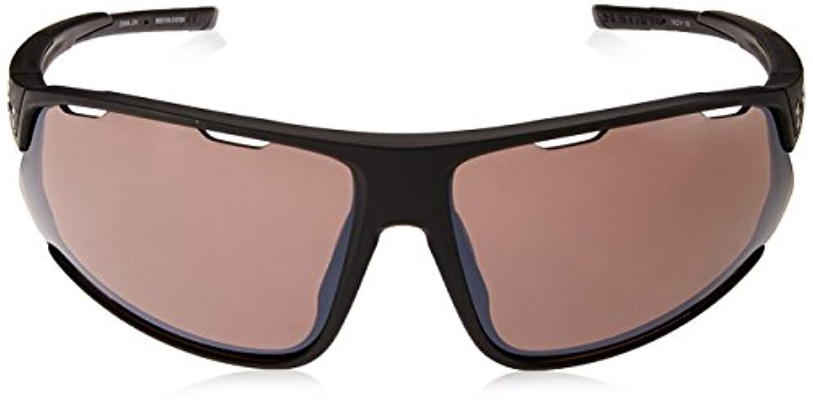 df6af4ea2dc Lyst - Under Armour Ua Strive Wrap Sunglasses