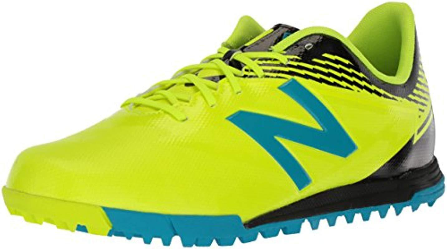 8abf9ebcc602b New Balance Furon 3.0 Dispatch Tf Soccer Shoe in Yellow for Men - Lyst