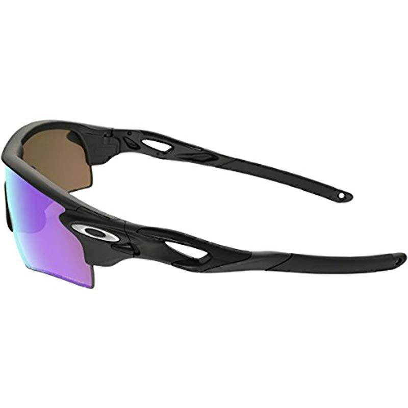 319e204572910 Oakley - Black Radarlock Path Oo9206 Asia Fit Shield Sunglasses for Men -  Lyst. View fullscreen