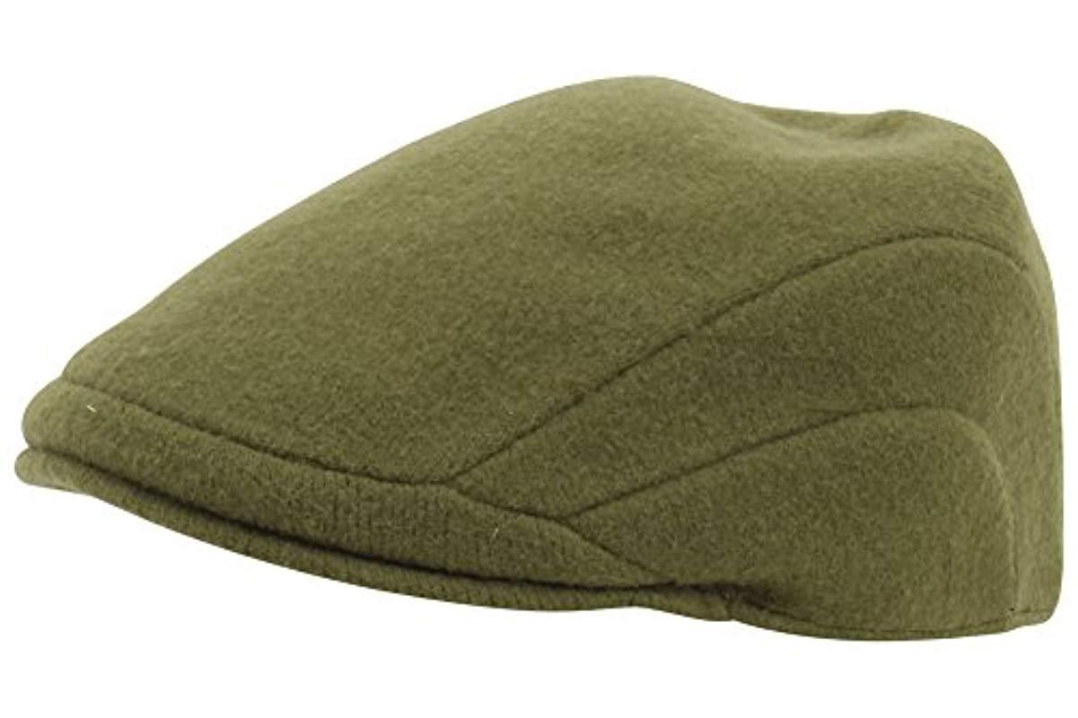 540838dd3a159 Lyst - Kangol Wool 507 Ivy Cap in Green for Men - Save 20%