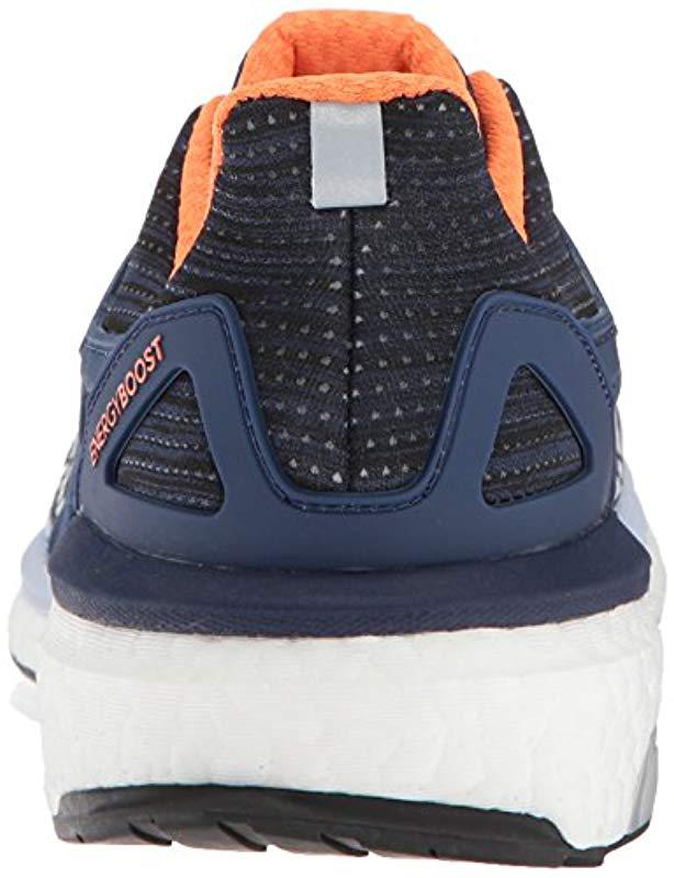 timeless design 56600 23e73 Lyst - Adidas Energy Boost W Running Shoe, Noble Indigoaero Bluehi-res  Orange, 8.5 M Us in Blue