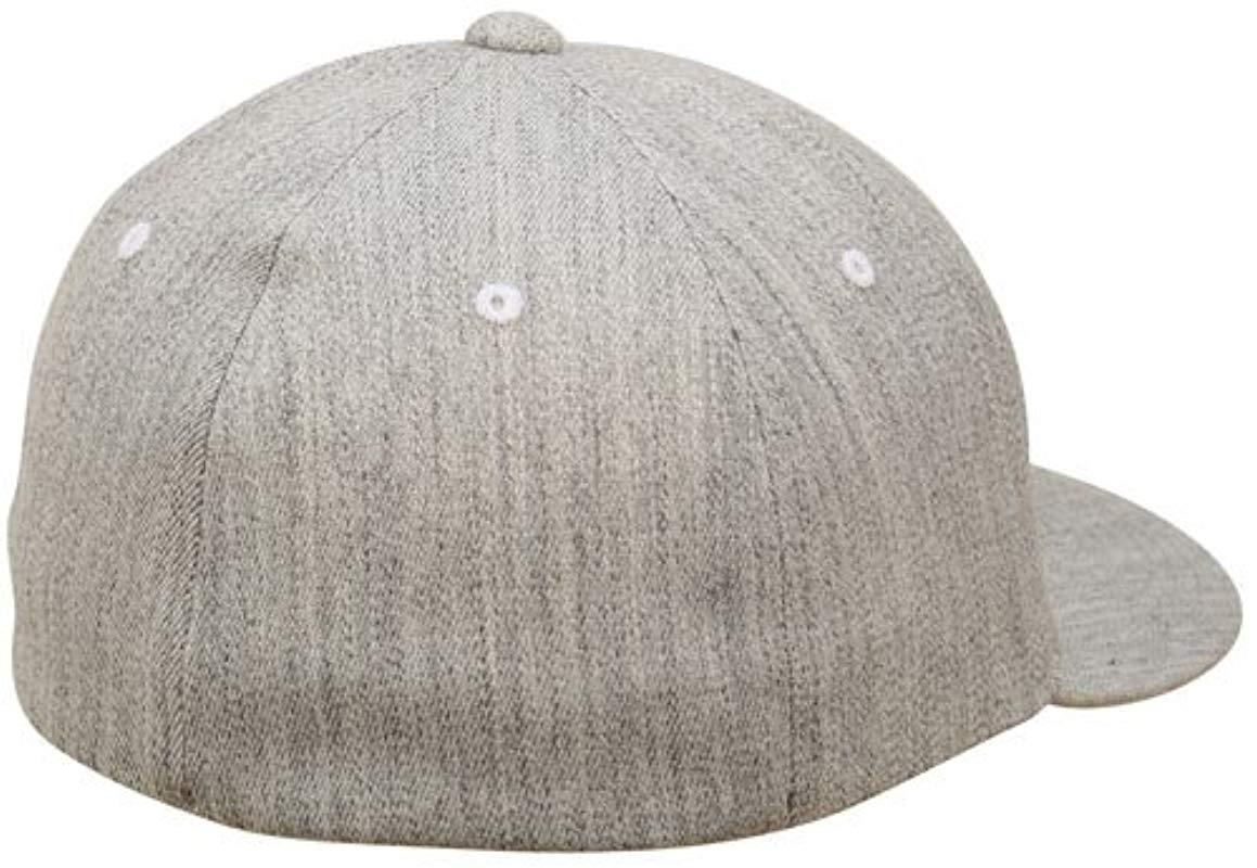 0ee4789f061 Nixon - Gray Deep Down Ff Athletic Fit Hat for Men - Lyst. View fullscreen