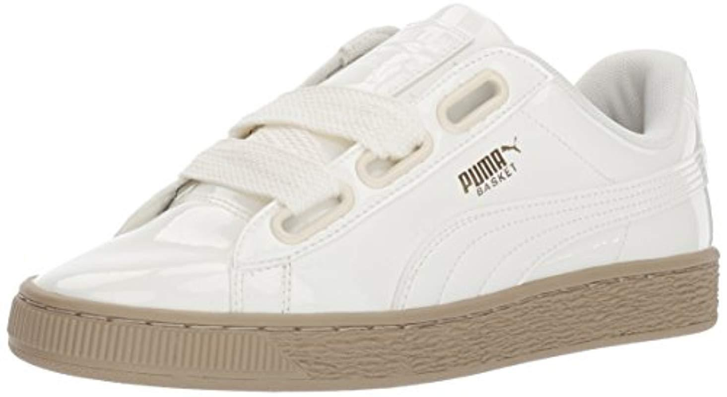 Patent Heart Sneaker Puma Opk80wn Basket Wn Lyst K1TlFJc3