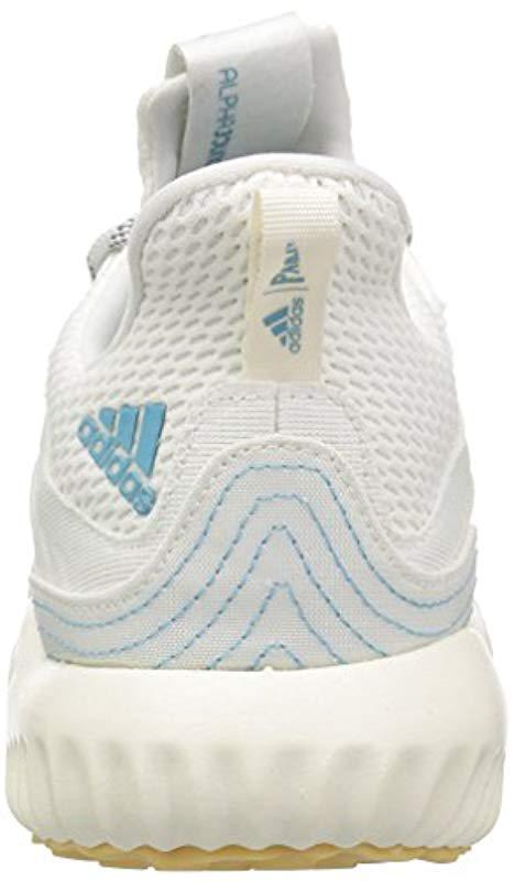 Adidas - White Alphabounce 1 Parley W Running Shoe - Lyst. View fullscreen 36d0a574d