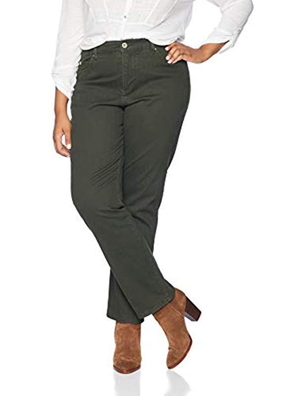 98c6d74f476 Bandolino - Multicolor Plus Size Mandie Signature Fit 5 Pocket Jean - Lyst.  View fullscreen