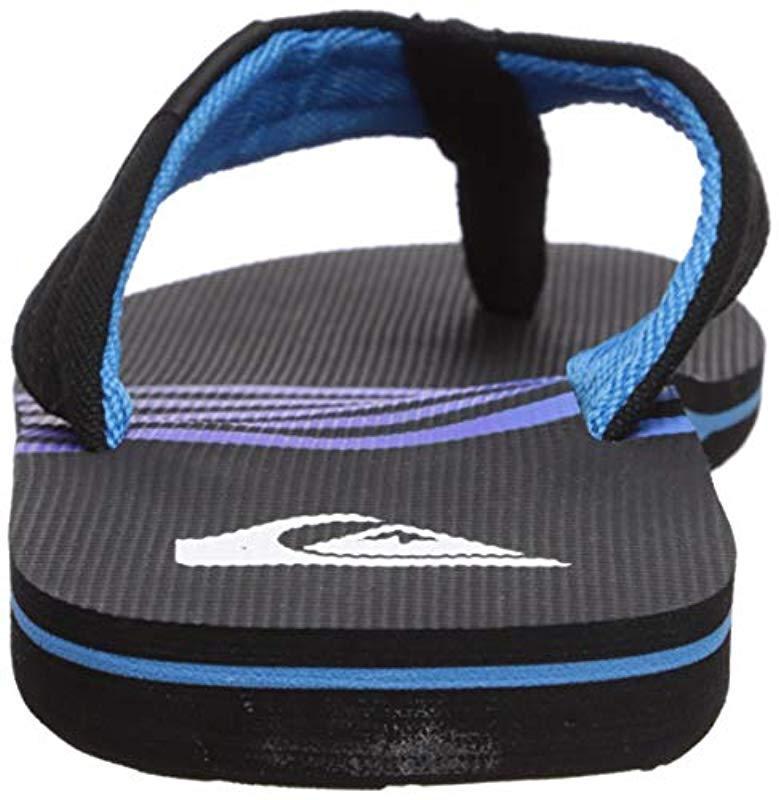 b6b13b558c0eff Quiksilver - Black Molokai Layback Sandal for Men - Lyst. View fullscreen