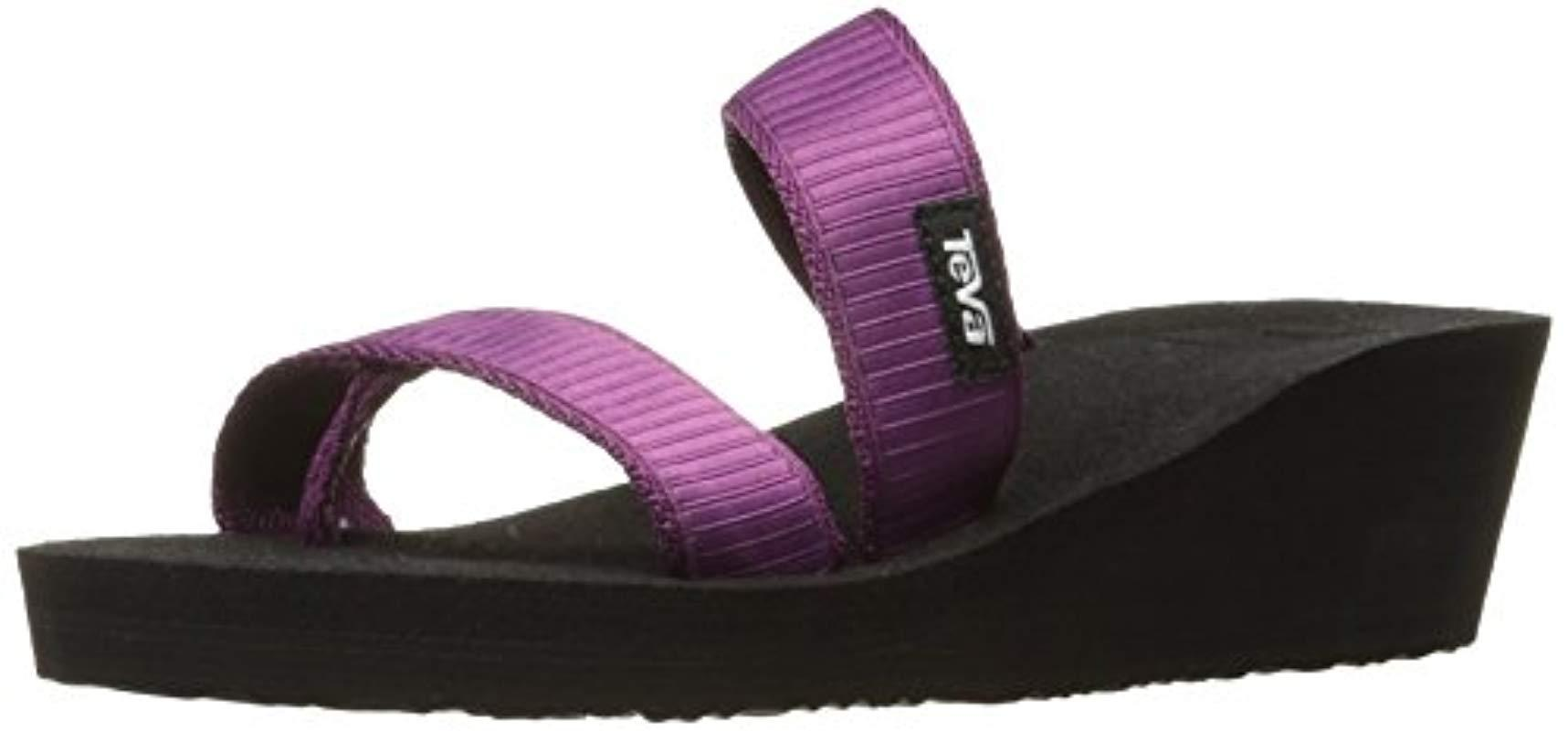 3bacdd3e699b Teva - Purple W Mush Mandalyn Wedge Loma Sandal - Lyst. View fullscreen
