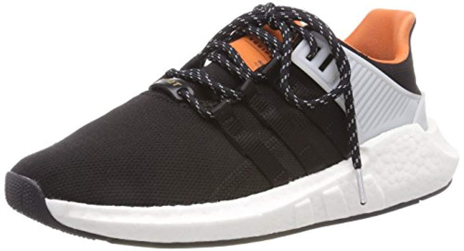 best service 794a0 0486c View fullscreen  best sneakers df340 c2370 Adidas Originals - Black Eqt  Support 9317 Running Shoe for Men -