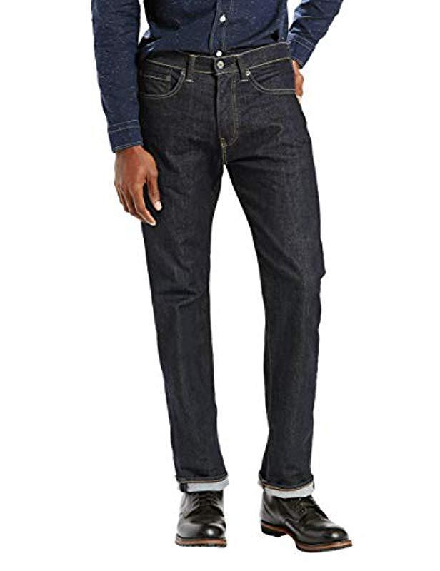 e66d9c15a69 Lyst - Levi's 505 Regular Fit Jean in Black for Men - Save 10%