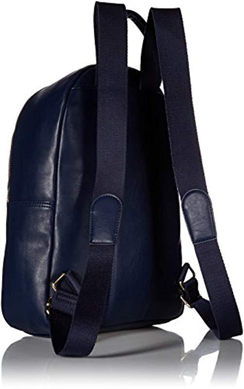f38d2b104d06 Tommy Hilfiger - Blue Dressy Canvas Backpack - Lyst. View fullscreen